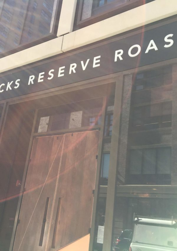 A Solo Date to the Starbucks Reserve Roastery NYC