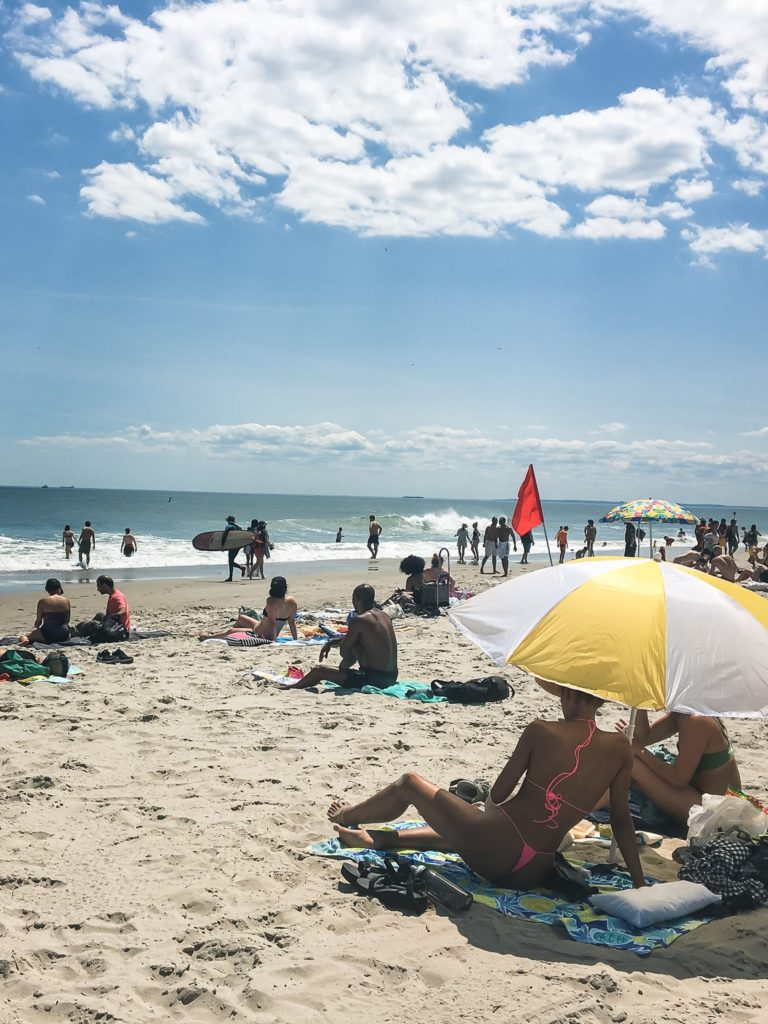 Sometimes, city life takes over and you need a break. For the official start to summer in NYC, we went for a beach day!