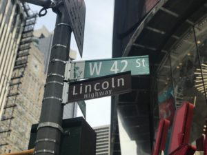 Lincoln HIghway 5 Historic Streets in NYC to discover