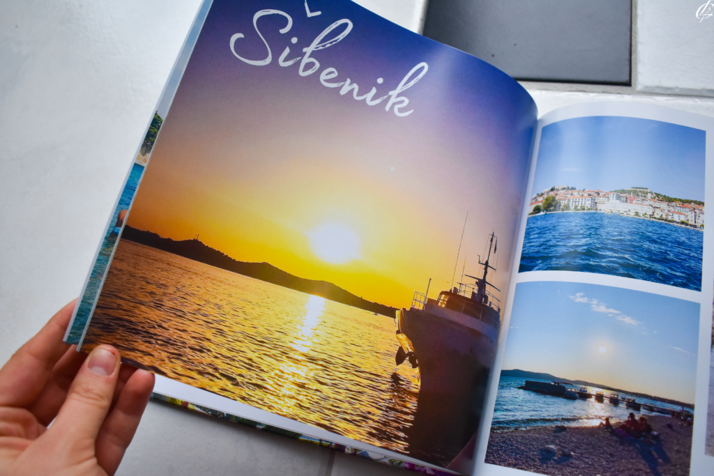 Where do you keep photos? Instead of scrapbooking, try creating a Mixbook photo book to display all of your favorite trip moments and highlights!