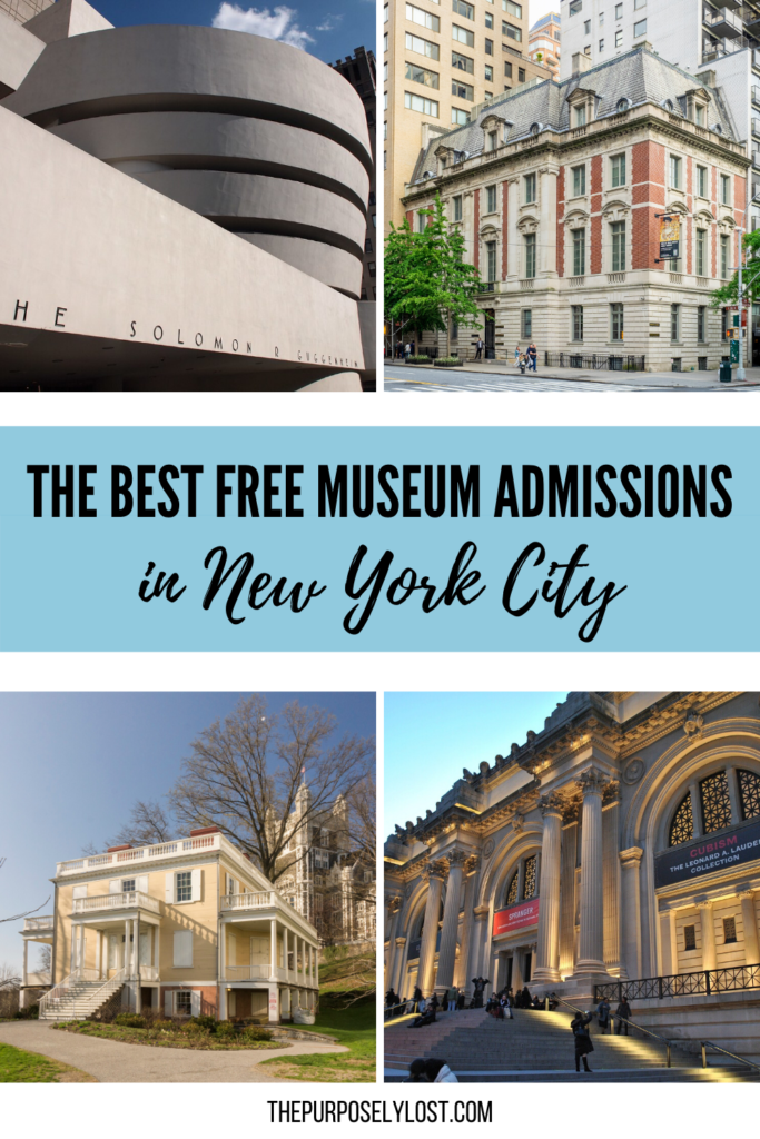 Take a look at this guide for all the dates and times you need to know for free museum days in NYC. Explore how to skip those entry expenses!