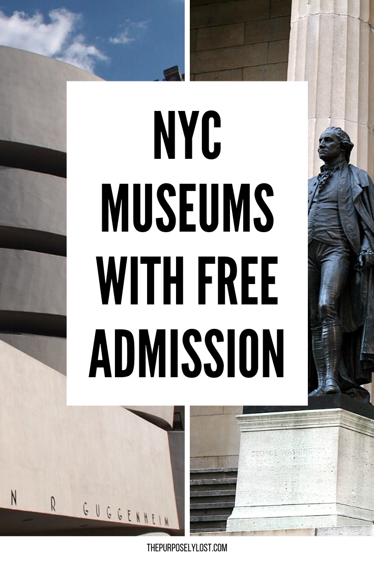 Your Guide to the Best Free Museum Days in NYC and Pay-As-You-Wish Admission