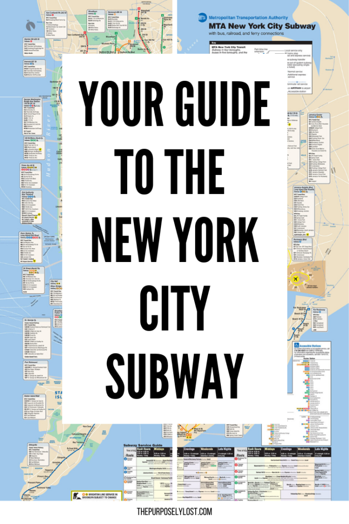 How do you buy a MetroCard? Which subway line should you take? How do you read the subway map? Here is your guide to navigating the New York City subway!
