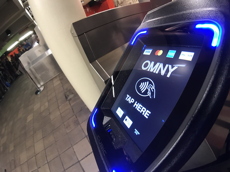 The new OMNY system makes navigating the New York City subway a little bit easier!