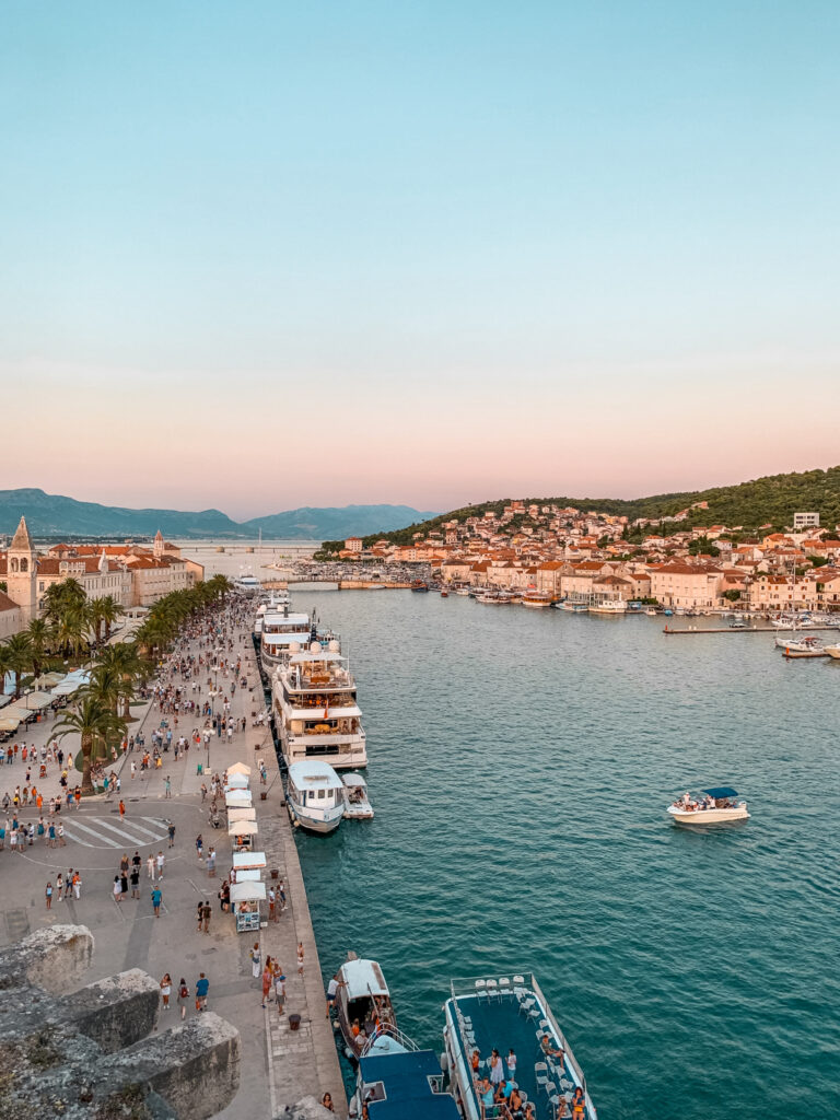Trogir, Croatia is a beautiful historic city situated in Split-Dalmatia county. The UNESCO World Heritage site is the perfect place to take a day trip from Split. Here's your guide to spending one day in Trogir!