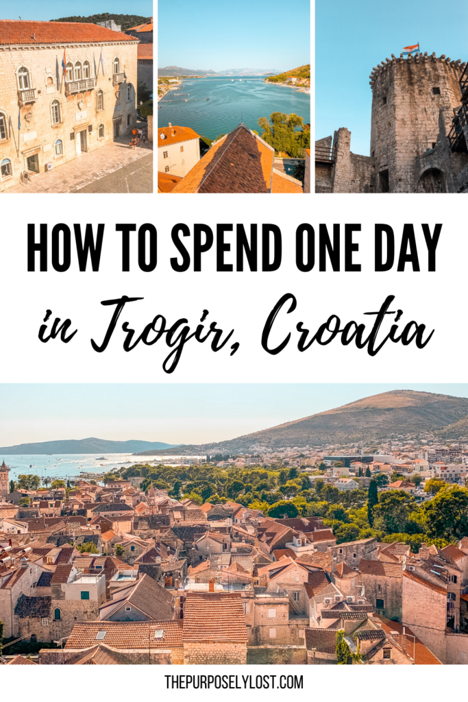 The tiny island town of Trogir, Croatia is a perfect place to spend a day when you're in Split-Dalmatia county. Here's your guide for filling one day in Trogir!