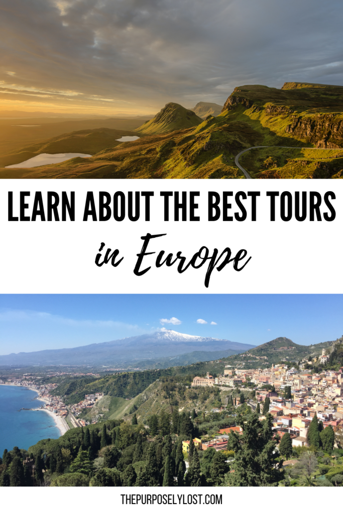 From hiking glaciers to swimming with dolphins, and entertaining walking tours to river cruises, you're going to be absolutely floored by the top tours in Europe.