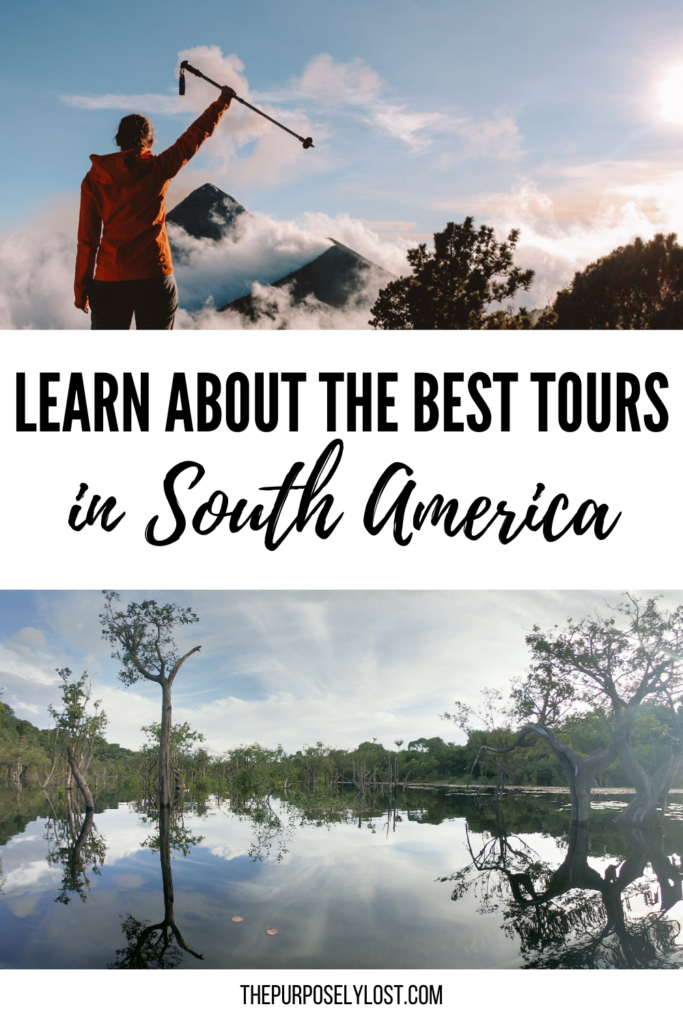 Are you an adventurer? Do you love to be fully immersed in gorgeous landscape and exotic wildlife? Check out this incredible list of top tours in South America.