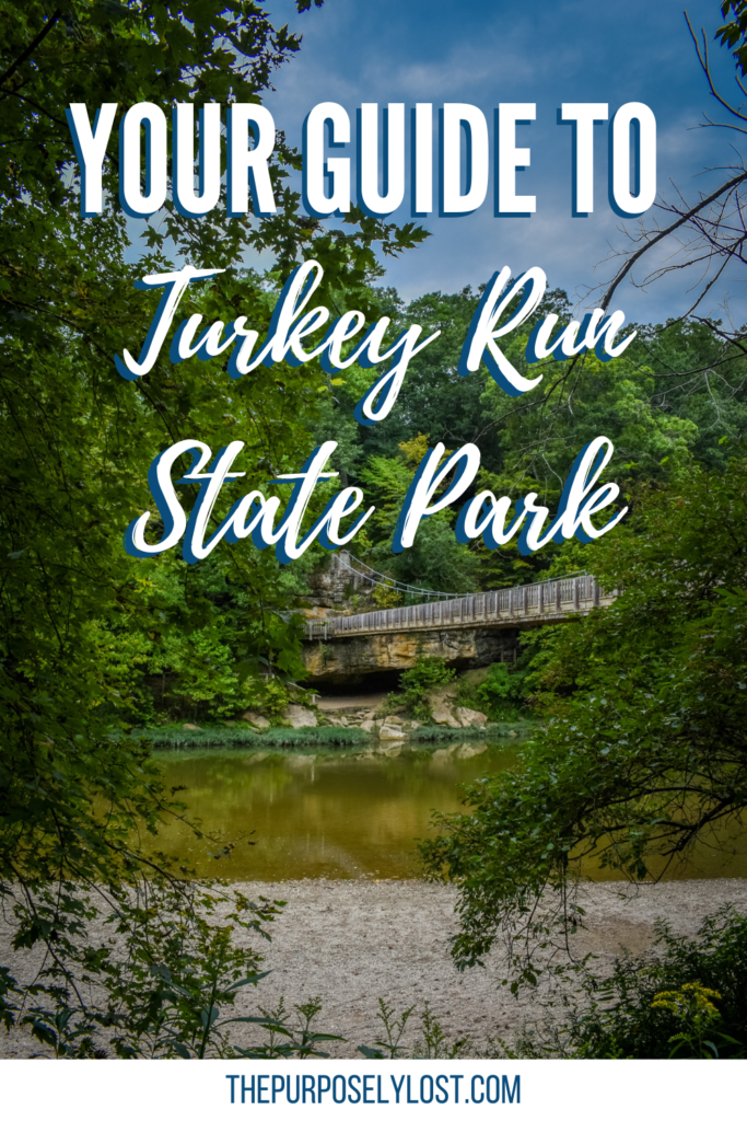 Spend a day outside exploring the many things to do at Turkey Run State Park in Marshall, Indiana like hiking, canoeing, camping, even horseback riding!