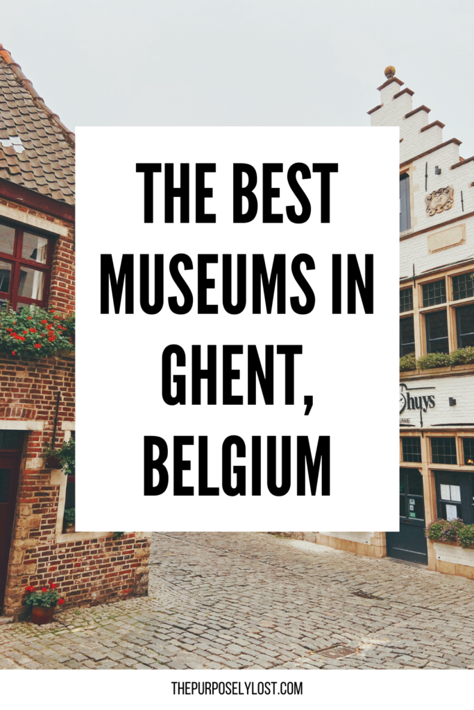 Ghent's history goes hand-in-hand with the city's modern creativity, making the best museums in Ghent experiences in their own right!
