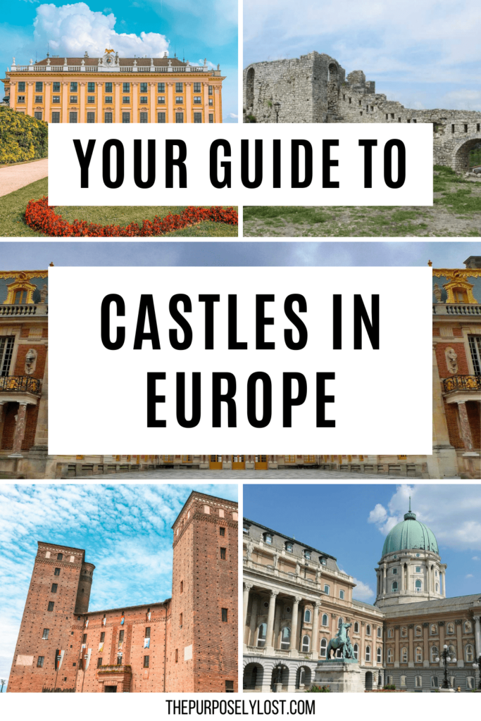 Are you fascinated by the history of royal residences and castles? Read about some of the famous castles in Europe!