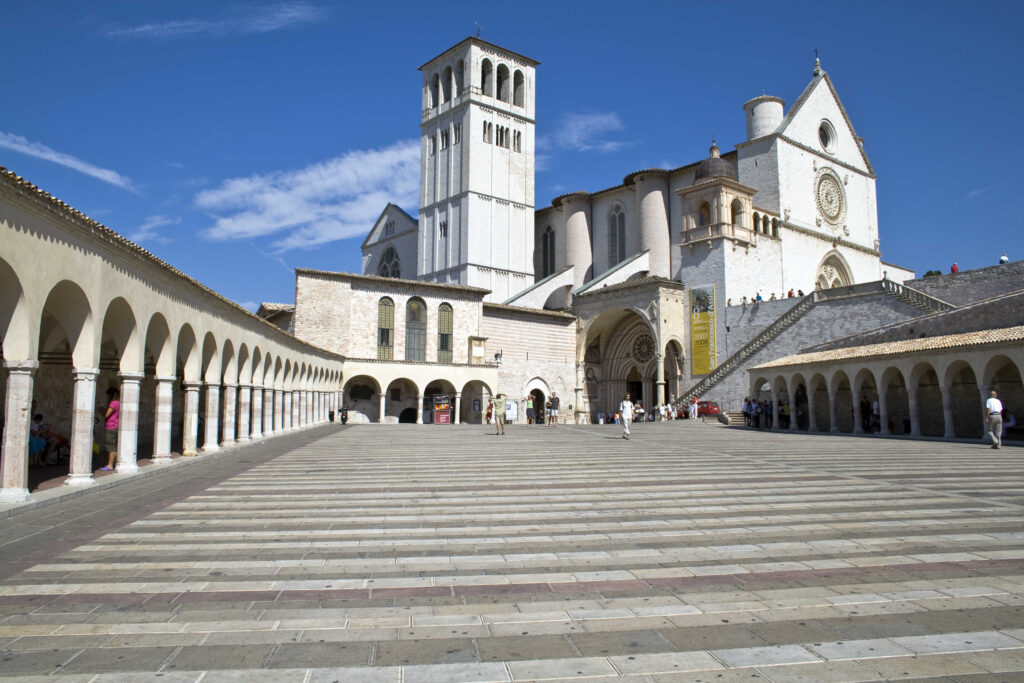 Basilica of St Francis Of Assisi Umbria