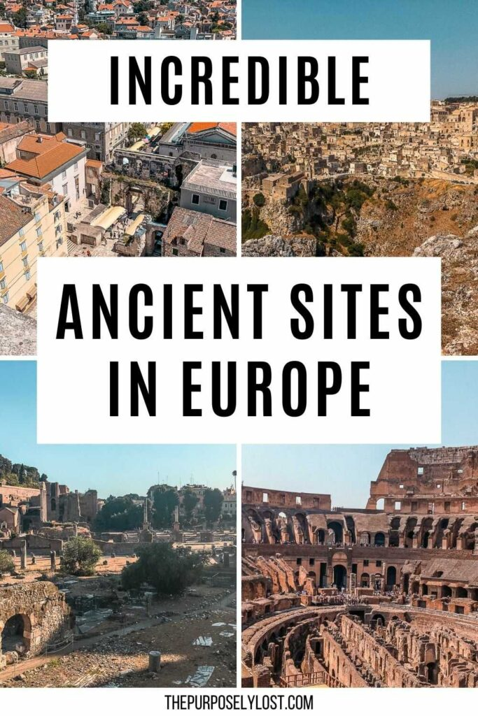 There are so many remarkable sites that have withstood the test of time. Make sure you take a look at this list of ancient places in Europe!