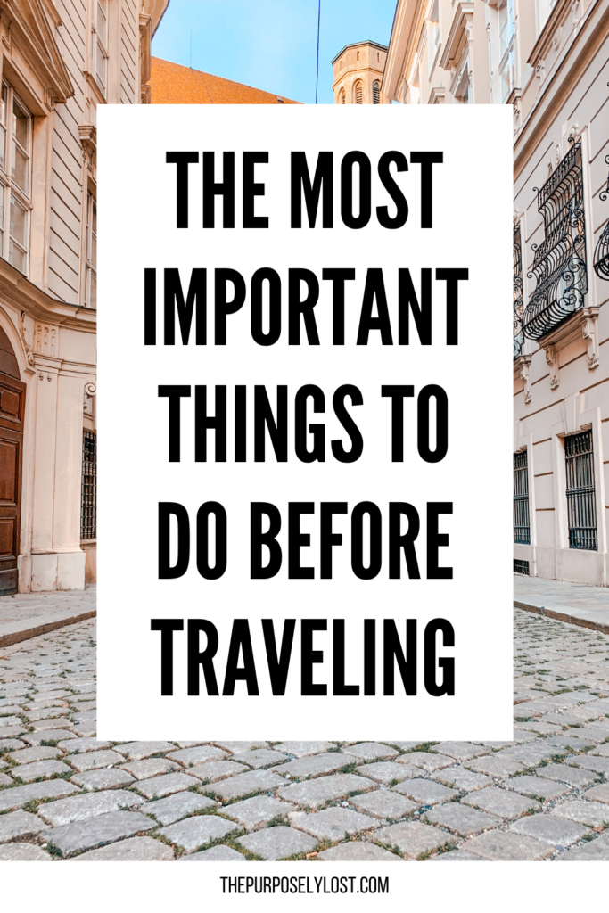 No matter how long your vacation is, make sure to review your list of things to do before traveling. What tasks did you forget about?