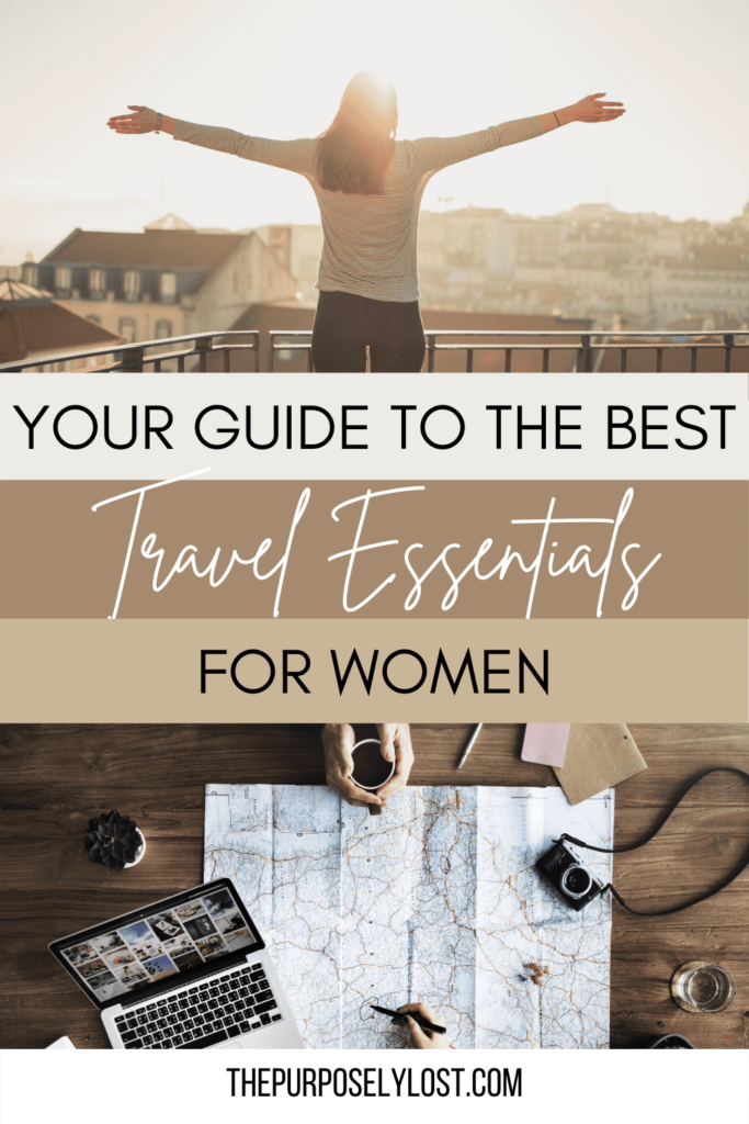 Whether you're going on a short trip or a long-haul flight, make sure you include some of these top travel essentials for women.