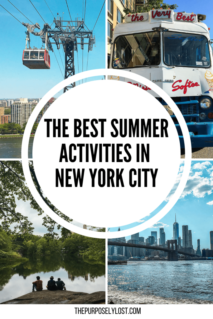 Are you visiting NYC this summer? There's so much to do in the summer in NYC! Check out this New York summer bucket list for ideas on what you can do to fill the long summer days!