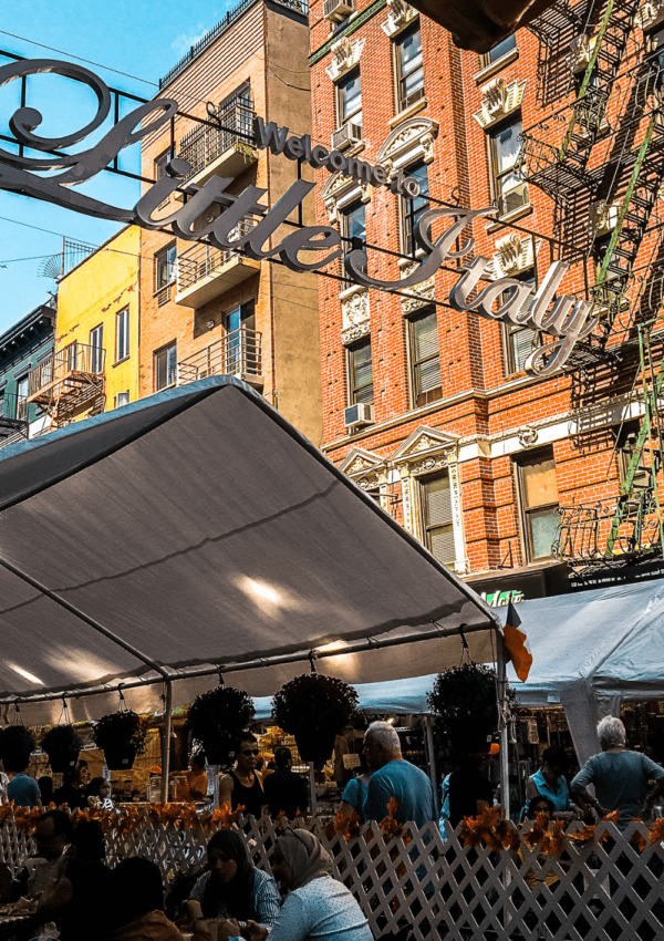 Best Fall Festivals in NYC - Welcome to Little Italy in NYC as part of the San Gennaro Festival