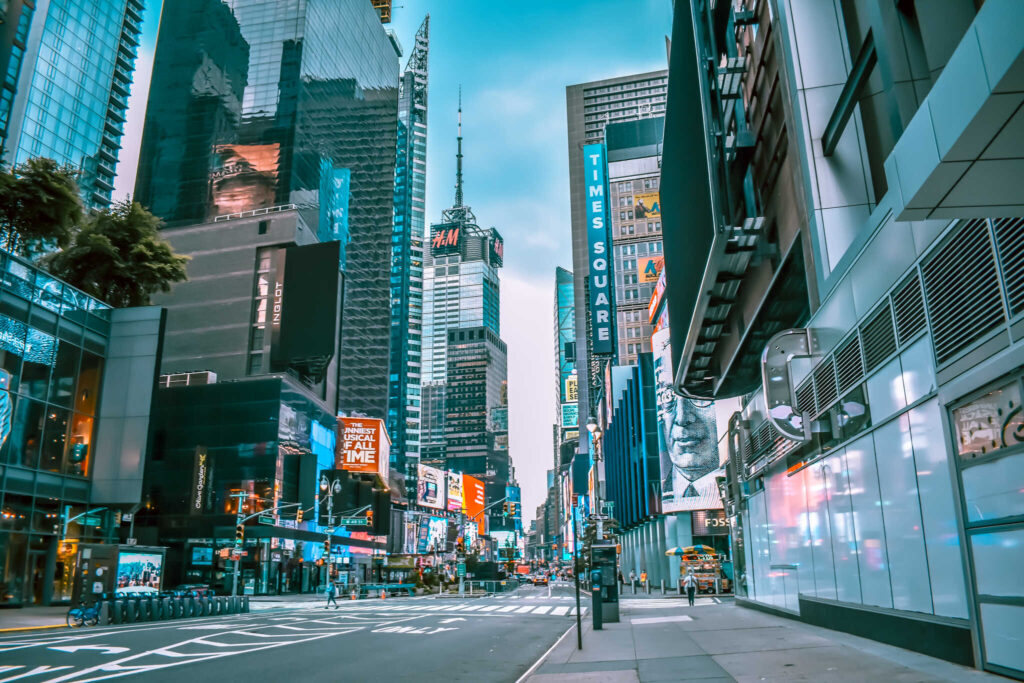 Times Square in New York City - There are several different NYC sightseeing passes. Learn about the different options in this New York City pass comparison guide to choose what's best for you!