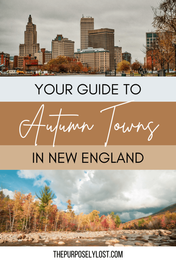 Whether you're looking for a quaint town with a rich history or a picturesque village with a charming downtown, these are the best New England towns in fall to visit for an autumn adventure.