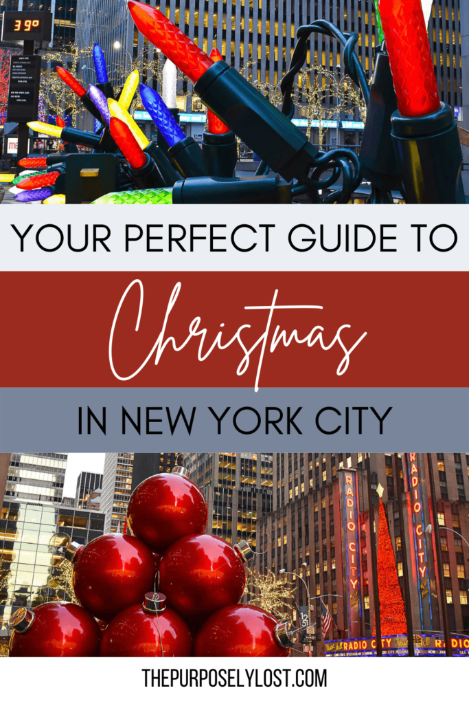 Are you visiting the Big Apple this holiday season? Find the best things to do and plan out your entire New York City Christmas itinerary!