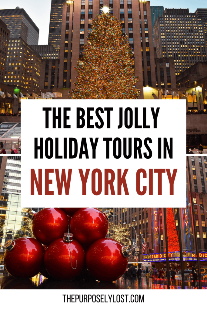 Check out these Christmas tours in New York City!